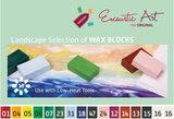 Landscape selection Encaustic Art wax