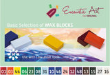 Basic selection Encaustic Art wax