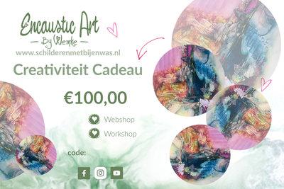 Creativiteit cadeau €100