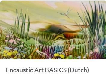 Online cursus Encaustic Art Basics (NEDERLANDS)