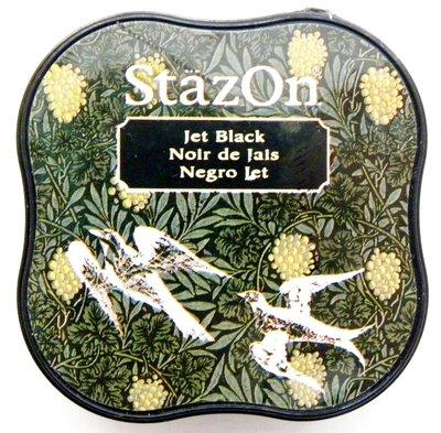 Stazon Jet Black stempelinkt