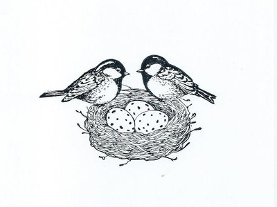 Clear Stamp Vogeltjes