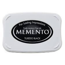 Memento Tuxedo Black stempelinkt