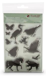 Clear stamps dieren