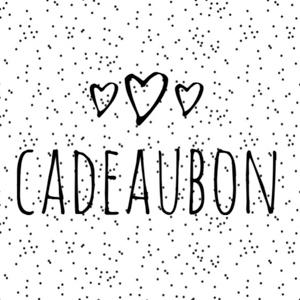 Cadeaubon webshop €50