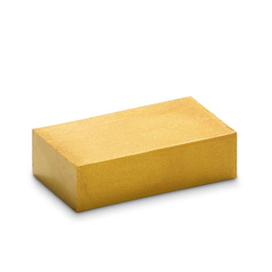 Wasblokje 25 - goudmetallic