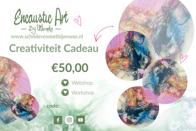 Creativiteit Cadeau €50