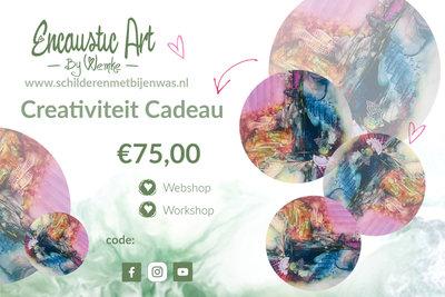 Creativiteit cadeau €75