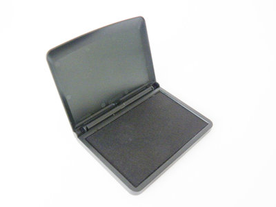 Stempelkussen zwart 7cm x 11cm