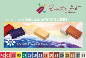 Enrichment selection Encaustic Art wax