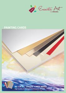 A4 Assorti gemengd papier Encaustic Art