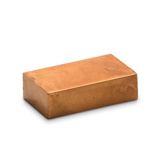 Brons 28 - Encaustic Art wasblokje
