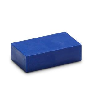 Kobaltblauw 19 - Encaustic Art wasblokje