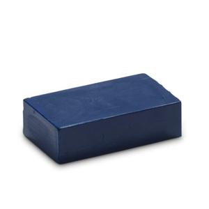 Pruisischblauw 18 - Encaustic Art wasblokje
