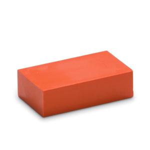 Oranje 03 - Encaustic Art wasblokje