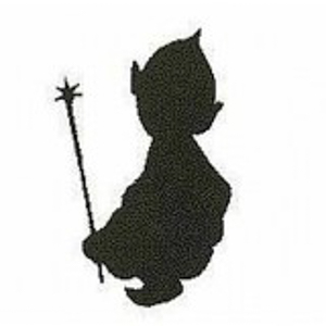 Pixie stempel - Encaustic Art