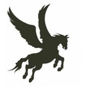 Pegasus stempel - Encaustic Art