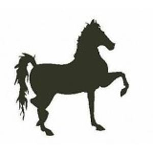 Paard stempel - Encaustic Art