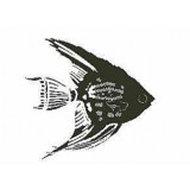 Engelvis stempel - Encaustic Art